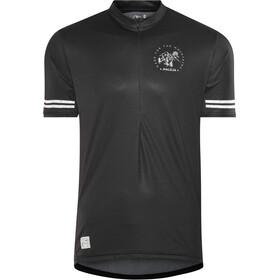 Maloja DomenicaM. All Mountain Maillot de cyclisme à manches courtes Homme, moonless